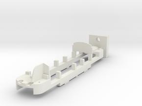 CHASSIS ADAPTATION Billard A80D ATLAS HOe in White Natural Versatile Plastic