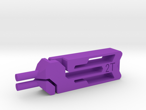 Tweezers 2T in Purple Processed Versatile Plastic