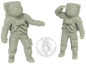 1: 48 Apollo Astronaut a7lb Type / Set l in White Natural Versatile Plastic