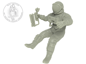 Gemini EVA Astronaut / 1:48 in Smooth Fine Detail Plastic