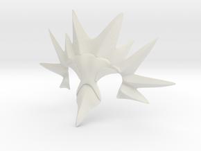 Team Instinct Zapdos Head Gear in White Strong & Flexible