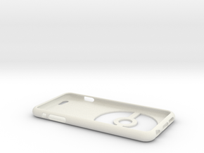 Iphone 6S/6 Plus Pokeball Case in White Natural Versatile Plastic