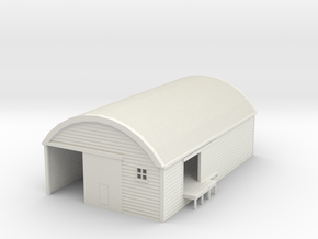 NZR 30' by 50' Curved Roof Goods Shed NZ120 in White Natural Versatile Plastic