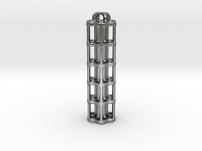 Tritium Lantern 5A (Stainless Steel) in Natural Silver