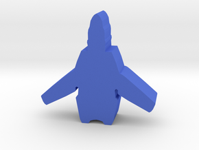 Game Piece, UN Earth Aerospace Fighter in Blue Processed Versatile Plastic
