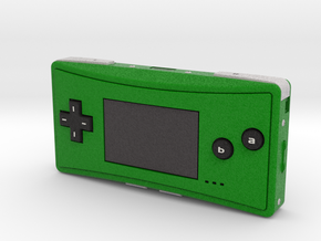 1:6 Nintendo Game Boy Micro (Green) in Full Color Sandstone
