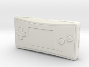 1:6 Nintendo Game Boy Micro (Pokemon) in White Natural Versatile Plastic