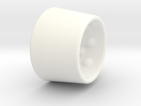 Ring23x27-20x2 in White Strong & Flexible Polished