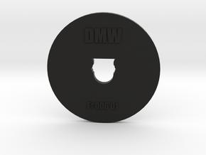 Clay Extruder Die: Footer 006 01 in Black Natural Versatile Plastic