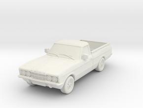 1:87 Cortina mk3 standard p100 hollow in White Natural Versatile Plastic