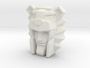 Leozack Faceplate (Titans Return) in White Strong & Flexible