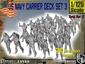 1/125 US Navy Carrier Deck Set 3 in Frosted Ultra Detail