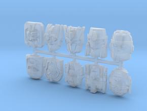 Titans Return Sampler Pack in Smooth Fine Detail Plastic