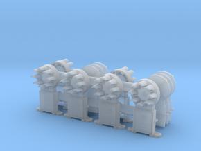 Dwarf B&O CPL(6) - HO 87:1 Scale in Smooth Fine Detail Plastic