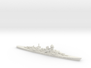 Seydlitz (Hipper Class) 1/1800 in White Natural Versatile Plastic