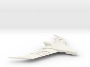 Hot-headed Captain's Spoiler in White Natural Versatile Plastic