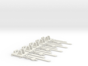Assemblage Leviers Aiguillage in White Strong & Flexible