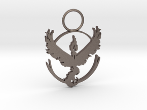 Team Valor in Polished Bronzed Silver Steel
