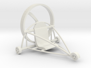 Paratrike in White Natural Versatile Plastic