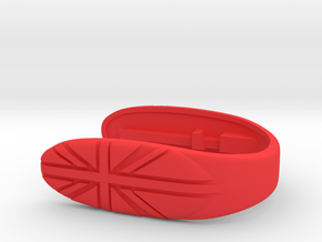 Union #15 Key FOB in Red Processed Versatile Plastic
