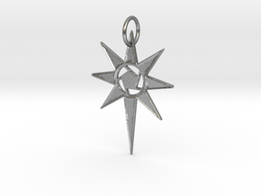 Thareon 'The North Star' in Natural Silver