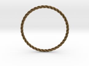 STU Light Ring in Natural Bronze