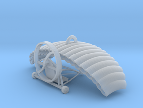 Paragliding & paratrike in Smooth Fine Detail Plastic
