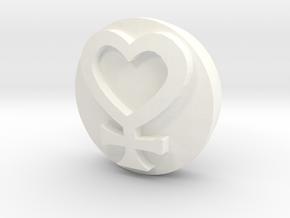 Sailor Mooon Transformation Pen - Venus in White Processed Versatile Plastic