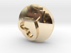 Sailor Mooon Transformation Pen - Mars in 14k Gold Plated Brass
