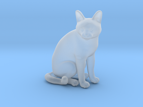 1/22 Chartreux Sitting in Smooth Fine Detail Plastic