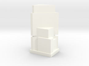 Custom Monopoly Hotel Version 7 (3cm tall) in White Processed Versatile Plastic
