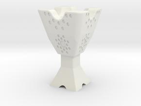 Mabkhara (Censer / Incense Burner) in White Strong & Flexible