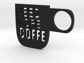 Coffe Wall Decoration in Black Strong & Flexible