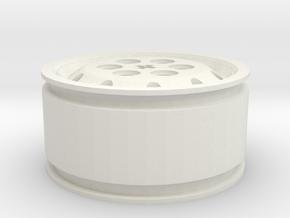 Jante Alcoa 385 65 R22.5 Pour Tracteur ( Direction in White Natural Versatile Plastic
