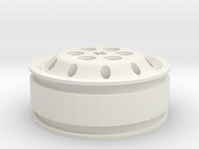 Jante Alcoa 11.00 X 22.5 Axe en croix in White Natural Versatile Plastic