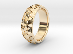 Hexmo Ring in 14K Yellow Gold