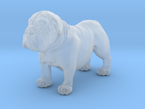 Bull Dog mini size (color) in Smoothest Fine Detail Plastic