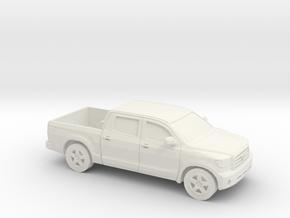 1/64 2007-11 Toyota Tundra Crew Cab in White Natural Versatile Plastic