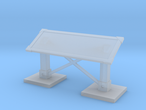 MOF Mail Display 48x18 - 72:1 Scale in Smooth Fine Detail Plastic
