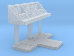 Set-1 CC Console - Free Standing in Smooth Fine Detail Plastic