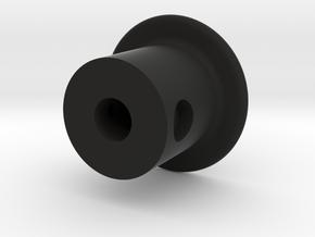 Reverse Knob in Black Natural Versatile Plastic
