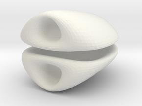 Animal Ears: Doll Mini 1/6 in White Natural Versatile Plastic