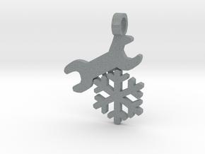 [The 100] Ice Mechanic in Polished Metallic Plastic