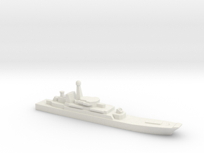 Ropucha I-class landing ship, 1/2400 in White Natural Versatile Plastic