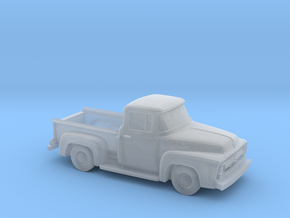 1956 Ford F100 3,5 Inch length in Smooth Fine Detail Plastic