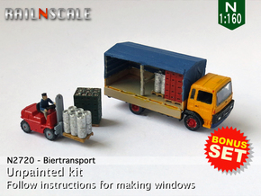 BONUS SET Biertransport (N 1:160) in Frosted Extreme Detail