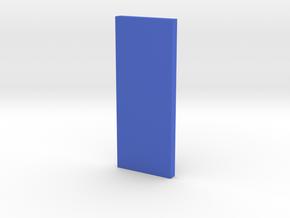 Scale Incense Holder in Blue Processed Versatile Plastic