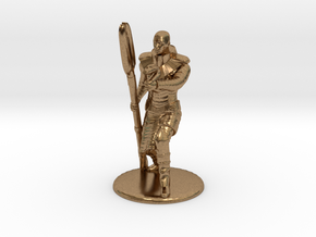 Jaffa Guard Firing his Zat - 20mm tall in Natural Brass