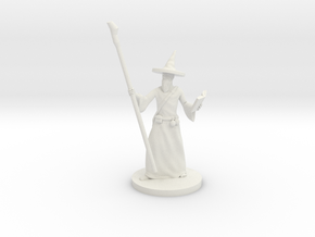 Wizard scaled to 80precent in White Natural Versatile Plastic