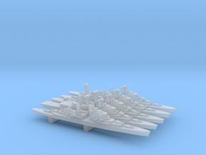 HNLMS De Zeven Provinciën Pack, 1/6000 in Smooth Fine Detail Plastic
